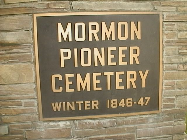 Image - A larger photo of the Mormon Cemetery