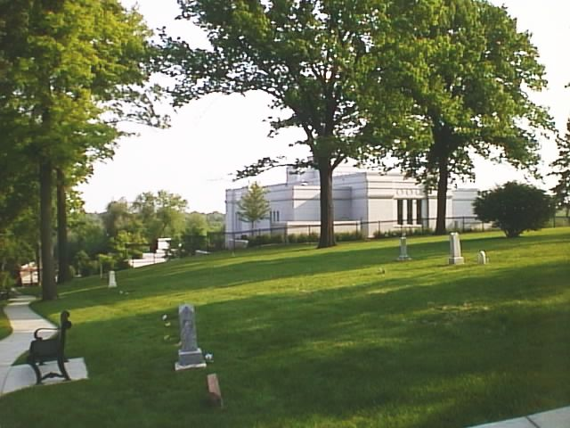 Image - Larger view of Mormon Cemetery