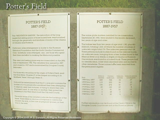 Image - Larger view of Potters Field Cemetery