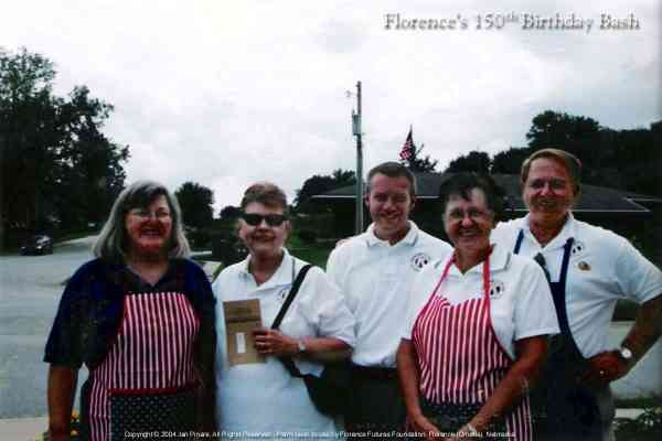 Kiwanis Club of Florence Caterers at the Florence Mill.